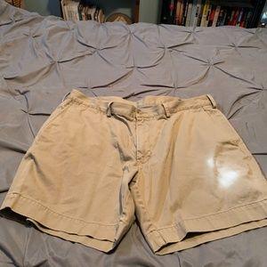 Ralph Lauren Men's Khaki Dress Shorts. Size 38